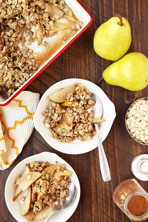 Apple or Pear Crisp
