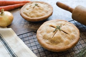 Vegetable Pot Pie with Teff Crust